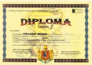2016 - diploma tenis