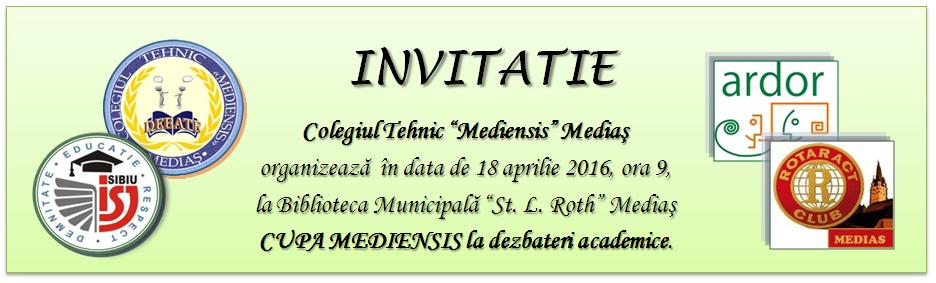invitatie debate